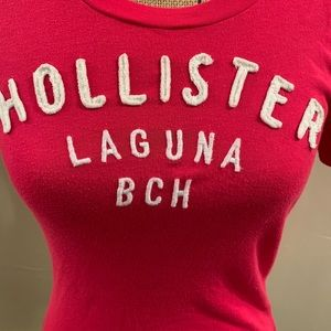Hollister Tops - Pink hollister T-shirt